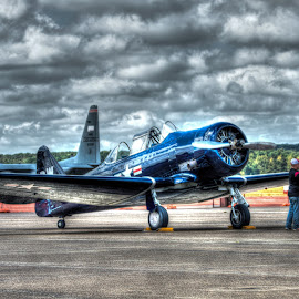 Warbird by Brian Box - Transportation Airplanes ( airplanes, wwii, aircraft, air show, airshow )