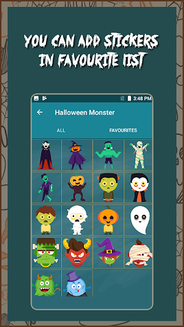 Halloween Mask & Halloween stickers Screenshot