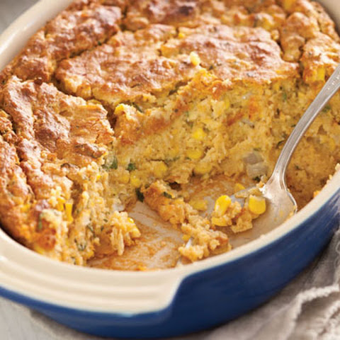 Sweet Potato Corn Spoonbread