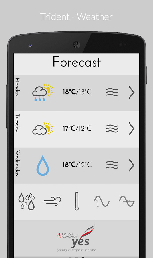 Trident - Weather (Premium) Screenshot 2