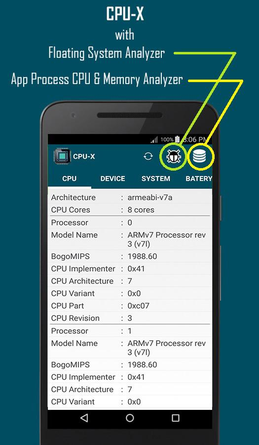 CPU-X Pro Screenshot