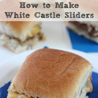 How To Make Copycat White Castle Sliders