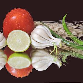 GARLICS by SANGEETA MENA  - Food & Drink Ingredients