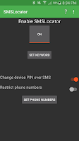 Screenshot of SMSLocator