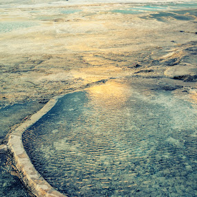 pamukkale by Samet Işık - Nature Up Close Rock & Stone
