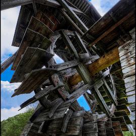 mill wheel by Jana Vondráčková - Artistic Objects Other Objects