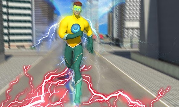 Lightning Flash Hero Speed Robot Transformation APK screenshot thumbnail 5