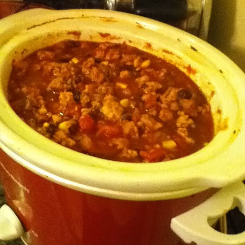 Kimmi's Crockpot Turkey Chili
