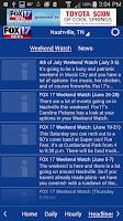 Screenshot of WZTV WX