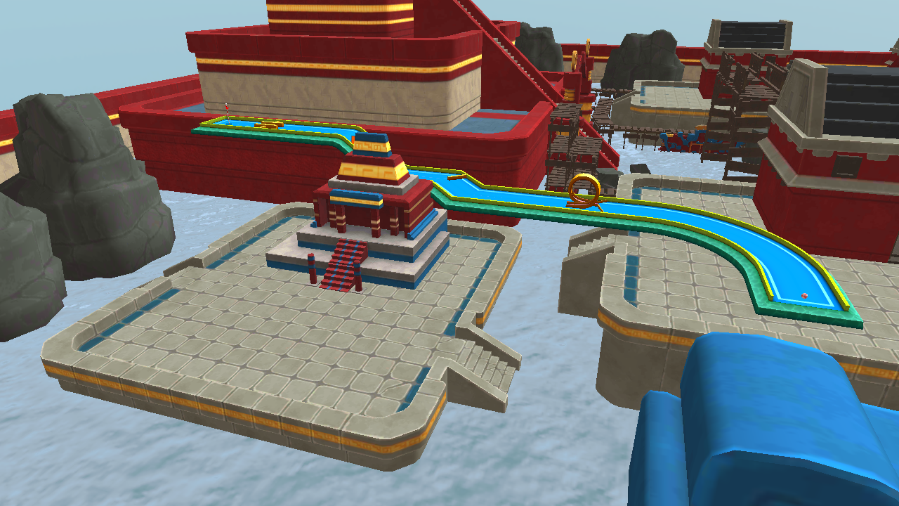 Mini Golf 3D City Stars Arcade Screenshot 7