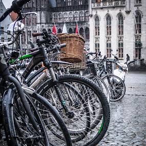 waiting by Guy Henderson - Transportation Bicycles (  )