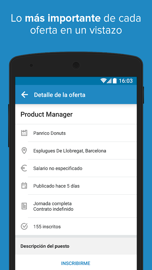 InfoJobs - Job Search Screenshot 4