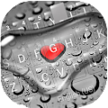 App Droplet Heart Keyboard Theme APK for Kindle