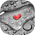 Droplet Love Keyboard Theme Icon