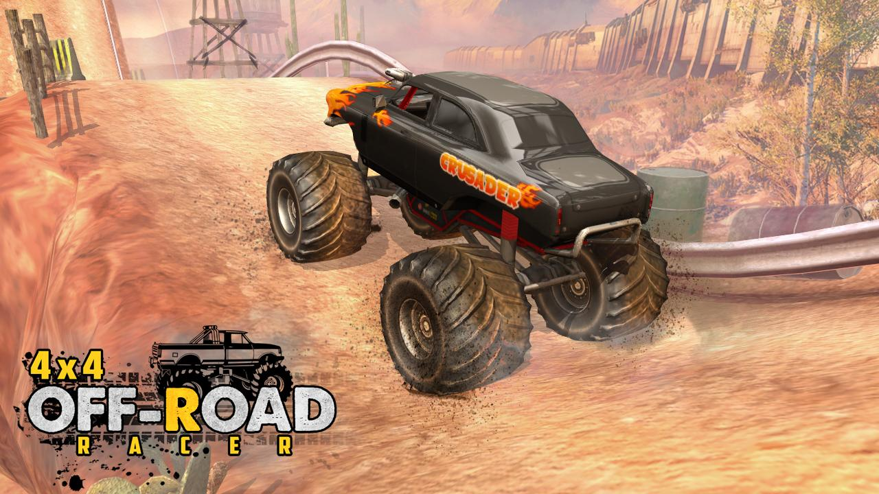 4X4 OffRoad Racer - Racing Games Screenshot 6