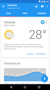 Aus Weather Australia screenshot for Android