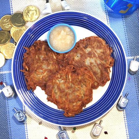 Traditional Potato Latkes (Potato Pancakes)