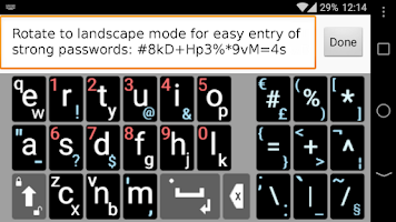 Screenshot of Qwerty6 Keyboard