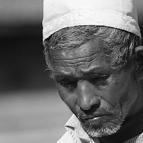 by Samrat Sam - Black & White Portraits & People ( patan )