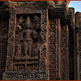 Sun God by Prasanta Das - Buildings & Architecture Statues & Monuments ( temple, sun god, idol )
