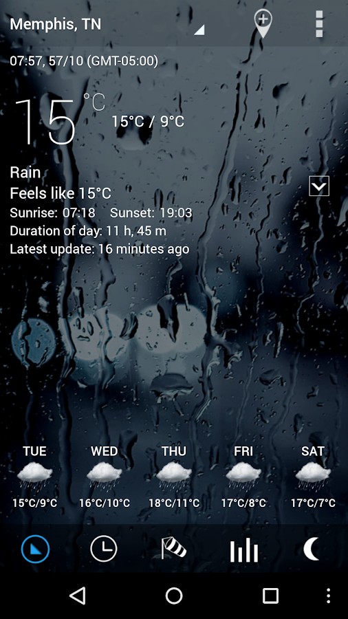 Sense Flip Clock & Weather Pro Screenshot 2