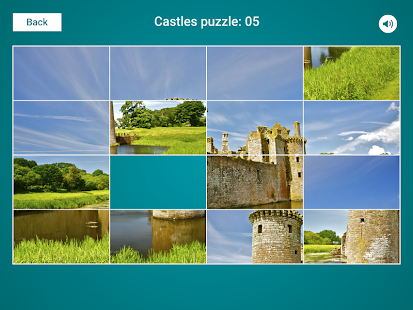 Castles Sliding Jigsaw Screenshot