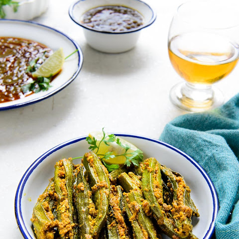 Bharwan Bhindi / Stuffed Lady's Finger