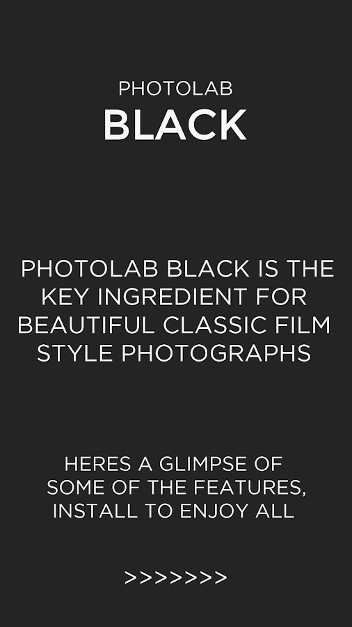Photo Editor - Black and white Screenshot 8