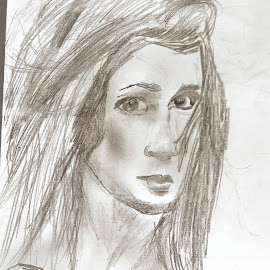 She's a lady by Livia Copaceanu - Drawing All Drawing ( women, portrait )