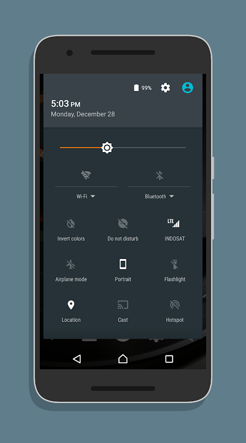 XperiaOS Layers Theme Screenshot 3