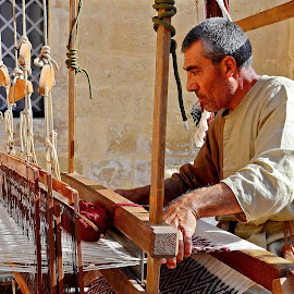 Medieval handcraft by Francis Xavier Camilleri - People Professional People