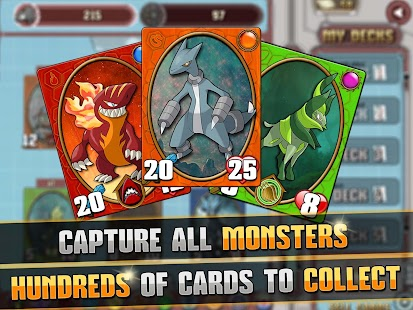 Monster Battles: TCG- screenshot thumbnail