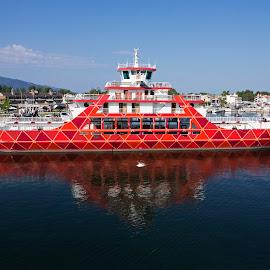 by Estislav Ploshtakov - Transportation Boats