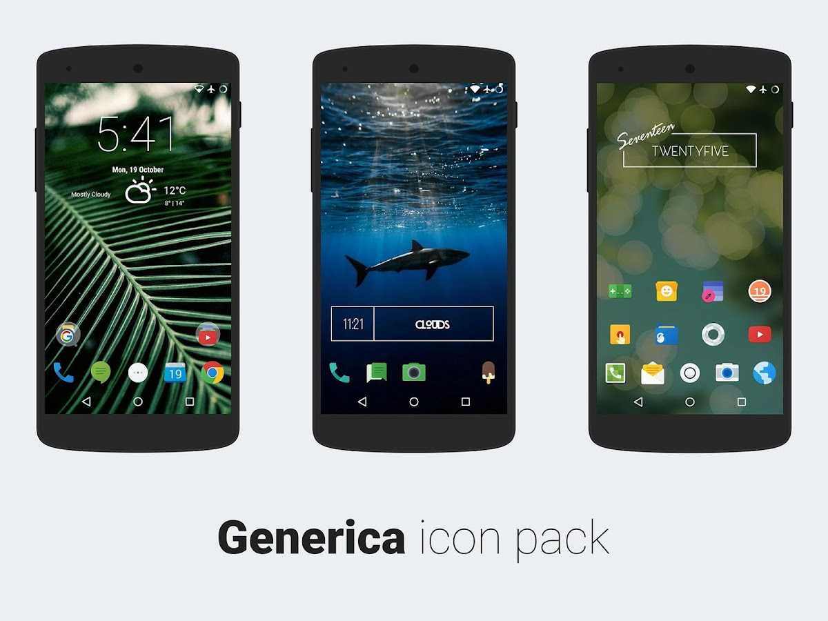 Generica icons EARLY PREVIEW Screenshot 0