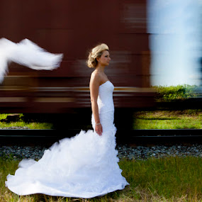 Train by Brent Foster - Wedding Bride ( wedding photographers in london on )