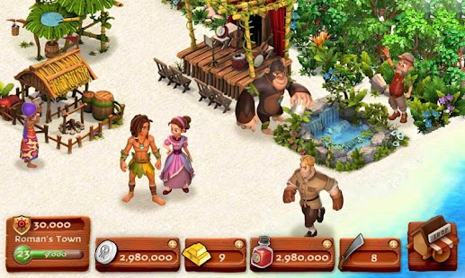 Download Skull Island:Build A Bay Isle! APK for Android Kitkat