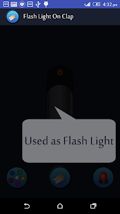 App Flash Light on Clap apk for kindle fire