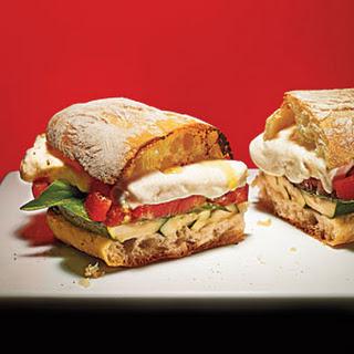 Grilled Zucchini Sandwiches Recipes