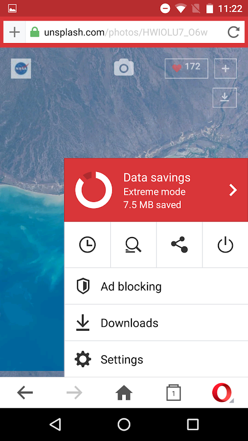 Opera Mini browser beta Screenshot 4