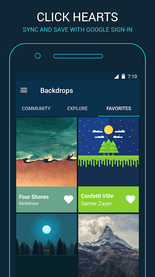 Backdrops - Wallpapers Screenshot 4