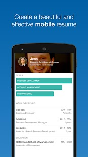 Cocoon - Startup jobs Holland - screenshot