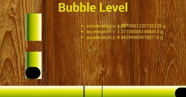 bubblelevels - screenshot