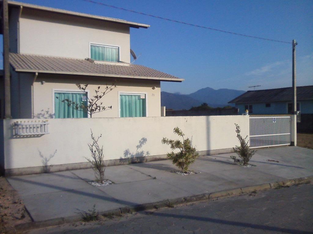 Casa 3 Dorm, Praia do Sonho (ens Brito), Palhoca (CA0486) - Foto 2