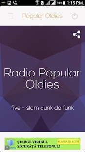 Radio Popular Oldies - screenshot