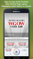 Screenshot of WGOW AM 1150