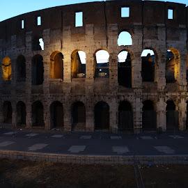 Coliseo de Roma by Juan Tomas Alvarez Minobis - Buildings & Architecture Public & Historical ( colosseum, rome, italy )