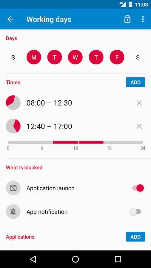 AppBlock - Stay Focused Screenshot 2