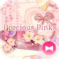 Colorful Theme Precious Pinks APK baixar