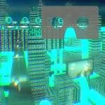 Cityscape for Google Cardboard Icon