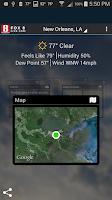 Screenshot of FOX 8 Weather